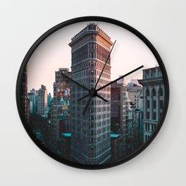 Flatiron Building New York City Wall Clock