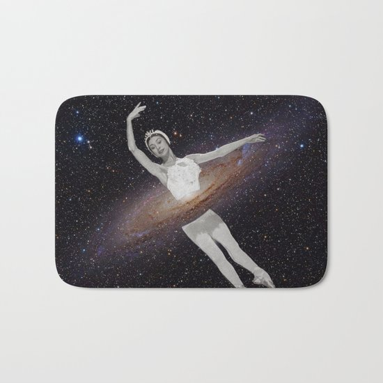 Ballerina Galaxy Bath Mat