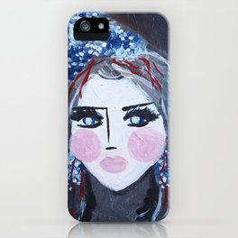 Liyana iPhone Case
