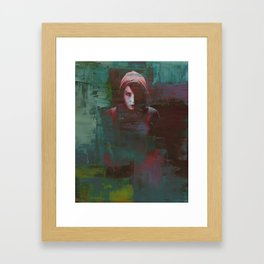 Girl With the Dragon Tattoo Framed Art Print