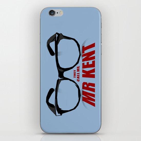 Mr Kent iPhone & iPod Skin