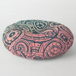 Round Rumination Floor Pillow