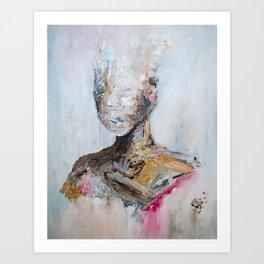 the sparrow Art Print