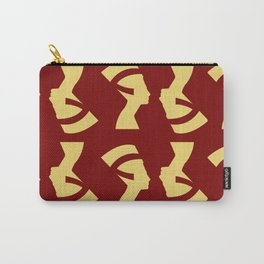 Golden Queen Large Print Carry-All Pouch