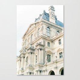 Parisian beauty Canvas Print