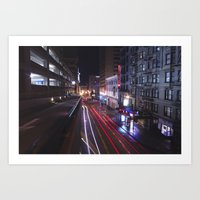 Tunnels and Trails Art Print