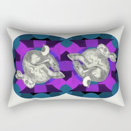 the entire universe may be infinite   darkness falls Rectangular Pillow