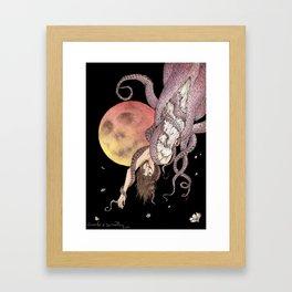 DIFFERENT SENSE Framed Art Print