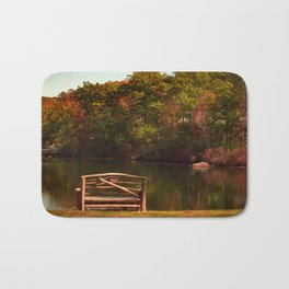 Fall shows us how beautiful it is to let things go Bath Mat