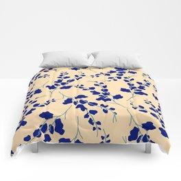 Blue Buds Comforters