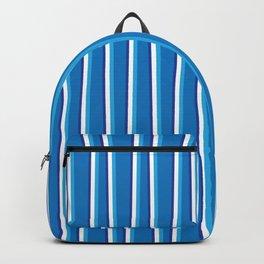 Between the Trees Blue, Cerulean & Navy #401 Backpack