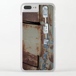 Major Farm 4 Clear iPhone Case