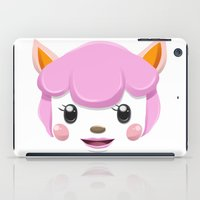 animal crossing iPad Cases featuring Animal Crossing Reese by ZiggyPasta