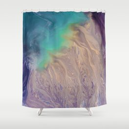 Above Shower Curtain