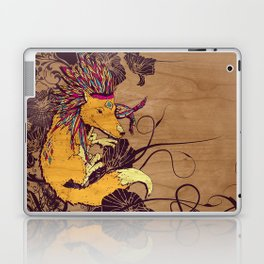 Spirit Happy Fox Laptop & iPad Skin