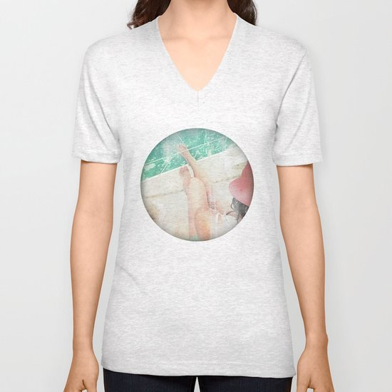 peace and tranquility Unisex V-Neck