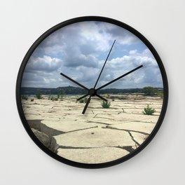 Lake Travis Wall Clock