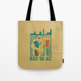 Black Sea Jazz Tote Bag