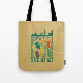 Black Sea Jazz Tote Bag