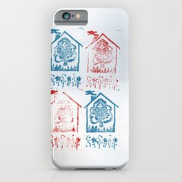 Dual Color House Nymph  iPhone Case