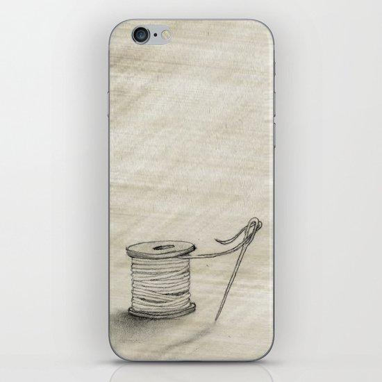 Sewing Time iPhone & iPod Skin