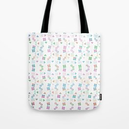 Shapes and Ladders Tote Bag