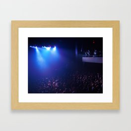 there's something about concerts Framed Art Print
