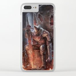Abyss Watcher - Dark Souls 3 Clear iPhone Case