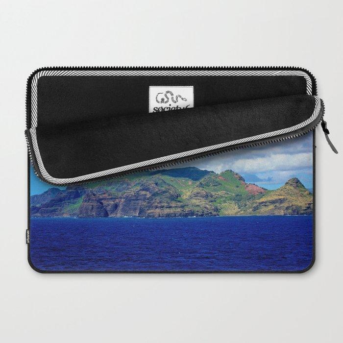 Kauai's Bright Welcome Laptop Sleeve