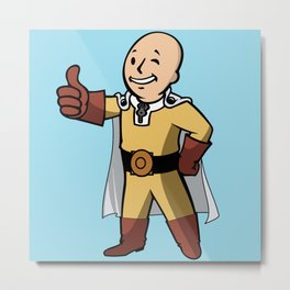 One punch boy - Parody Metal Print