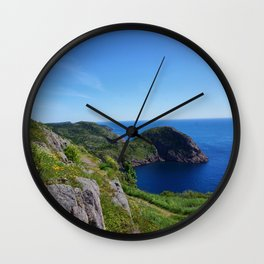 Blue Cove Wall Clock