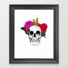 Skull I Framed Art Print