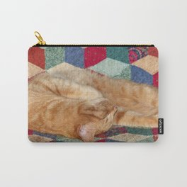 Cat Napping Carry-All Pouch