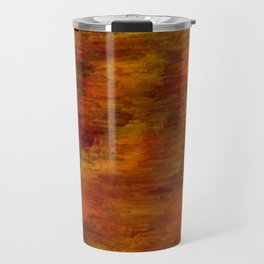 Autumn abstract texture Travel Mug