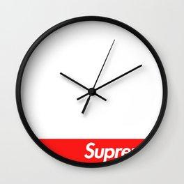 Supreme Box Logo Wall Clock