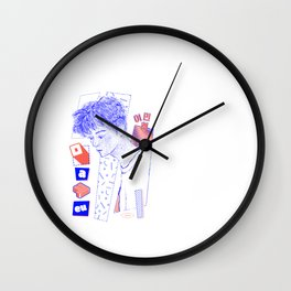 NCT DREAM MARK Wall Clock
