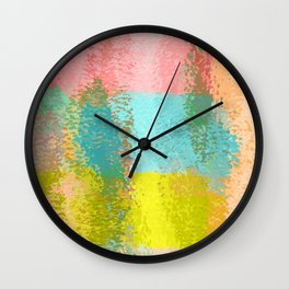 Chipped Paint Wall Clock