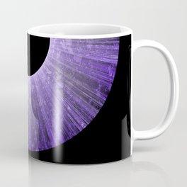 Purple Iris Abstract Universe Art Coffee Mug