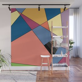 abstract colors and gray scale Wall Mural