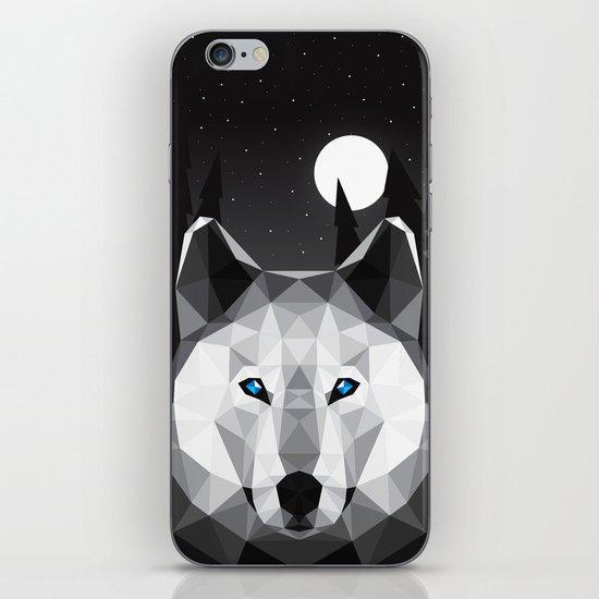 The Tundra Wolf iPhone & iPod Skin