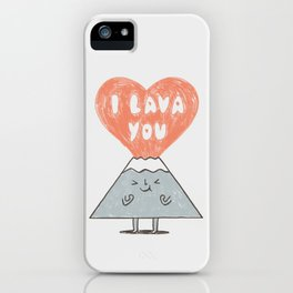 I Lava You 2 iPhone Case