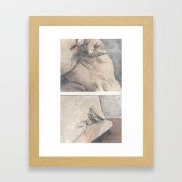 OntheBed Framed Art Print