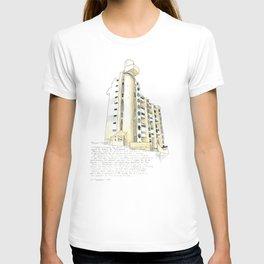 Hooper Street, Wellington T-shirt