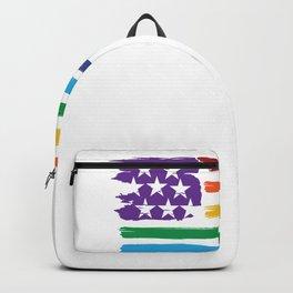 Pride Flag LGBT Backpack