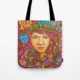 Internal Escapade Tote Bag