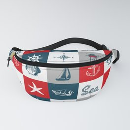 Nautical design 4 Fanny Pack