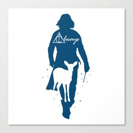 Snape Always Canvas Print