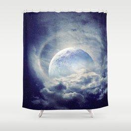 Moonlight Shadow Shower Curtain