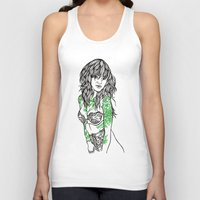 tattoos Tank Tops featuring Tattoos by Maia Fjord