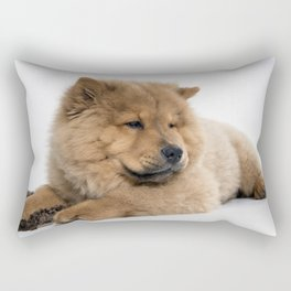 Chow Chow Chilling Rectangular Pillow
